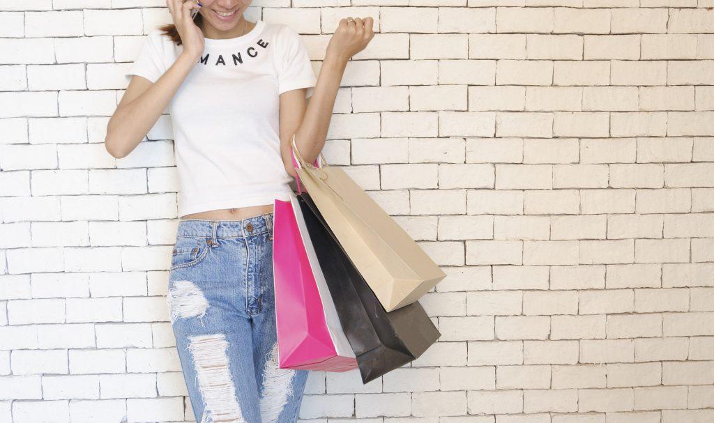 Девушка амбассадор бренда в инстаграме